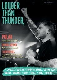 LOUDER THAN THUNDER 3 / 4