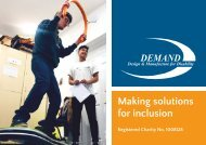 DEMAND Charity Annual Review 2018