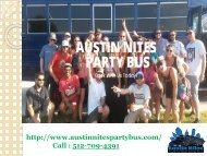 Reliable Charter Bus Service Austin