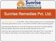 Erectile Dysfunction & Premature Ejaculation Products - Sunrise Remedies
