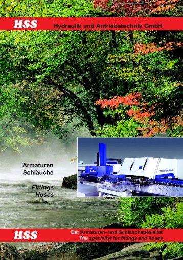 HSS-Hydraulik, Katalog 2003 - bei Hss-Hydraulik und ...