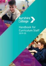 Curriculum Handbook 2019-20