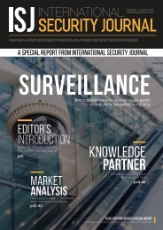 International Security Journal - August 2019 - Special Report
