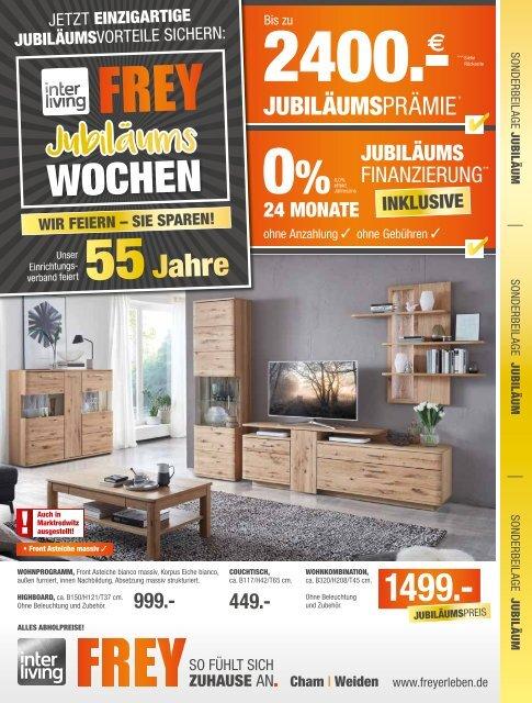 Interliving FREY - Jubiläumswochen Sonderbeilage August 2019