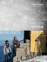 LOWA Outdoor Footwear Highlights 2019/2020