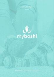 Sockenwolle 2019/20 Katalog myboshi