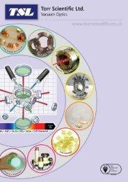 Vacuum Optics Catalogue - August 2019