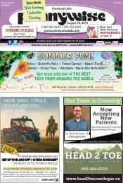 August 13, Pennywise – Kootenay Lake