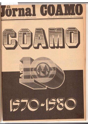 Jornal Coamo - Novembro de 1980