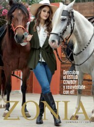 Zonia - Estilo Cowboy