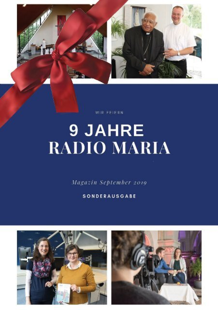 Radio Maria Magazin - September 2019
