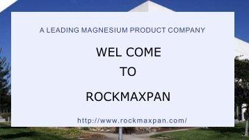 Properties Of Magnesium Oxide Cement