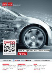 Aperçu Swiss Automotive Show 2019