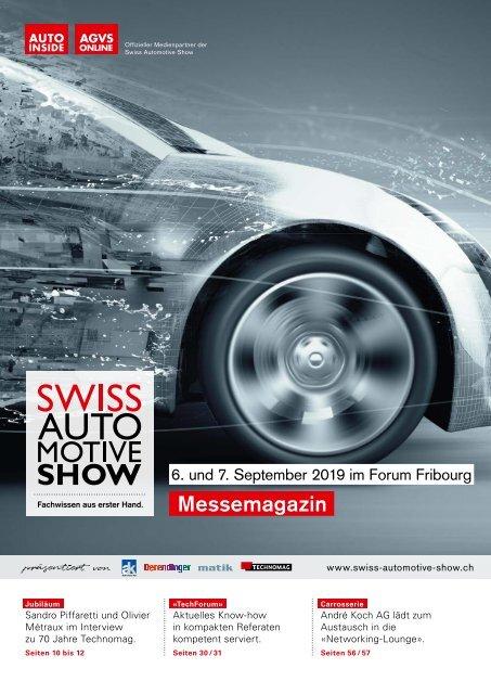 Messemagazin Swiss Automotive Show 2019