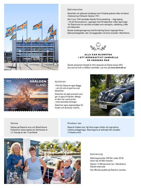 Åland Travel Magazine 2019