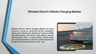 Wireless Electric Vehicle Charging Market Growth Impact & Demand by Regions Till 2020
