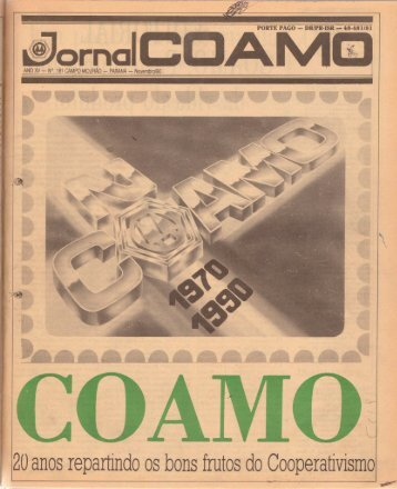 Jornal Coamo - Novembro de 1990