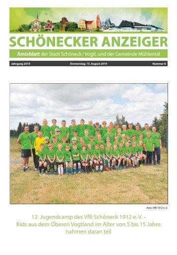 Schönecker Anzeiger August 2019