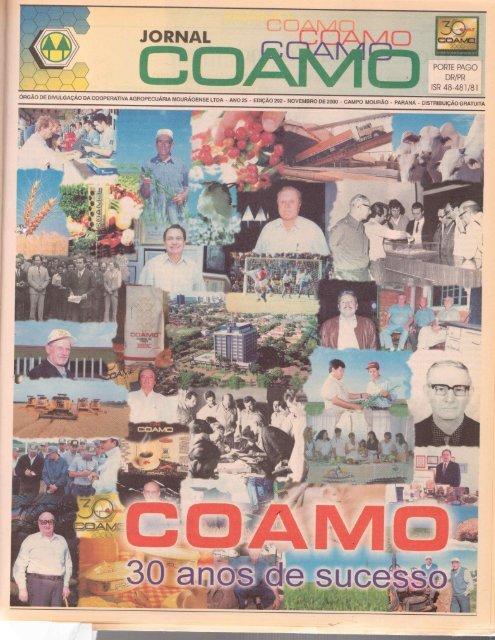 Jornal Coamo - Novembro de 2000