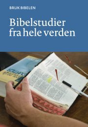 Bruk Bibelen: Bibelstudier