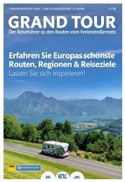 GRAND TOUR - Der Reiseführer zum Ferienstraßennetz
