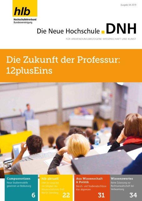 Die Neue Hochschule Heft 4/2019