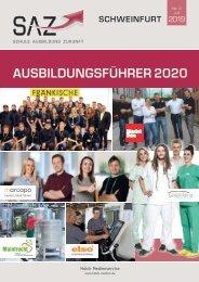 Ausbildungsführer Schweinfurt 2020