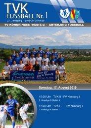 TVK-FUSSBALL  Nr.1  19/20