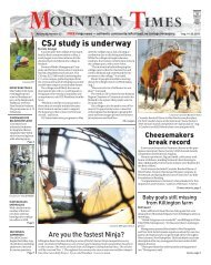 Mountain Times- Volume 48, Number 33: Aug. 14-20, 2019