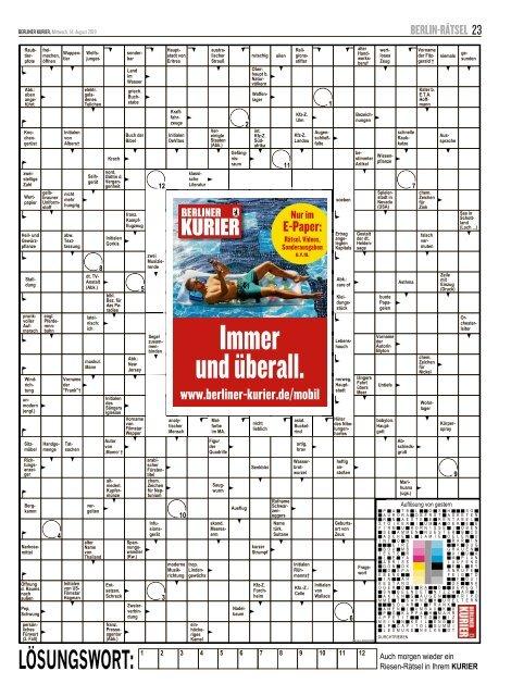 Berliner Kurier 14.08.2019