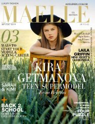 Maelle Kids Magazine UK Edition Sept-Oct |  Kira Getmanova