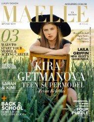 Maelle Kids Magazine UK Edition Sept-Oct    Kira Getmanova