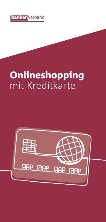 Onlineshopping mit Kreditkarte