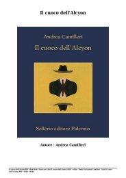 Scaricare Libri Il cuoco dell'Alcyon Gratis Di Andrea Camilleri