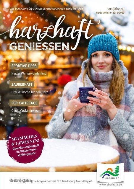 Magazin harzhaft genießen | Ausgabe Herbst/Winter 2019/2020