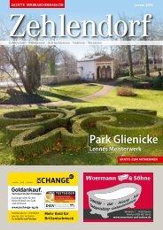 Gazette Zehlendorf Januar 2016