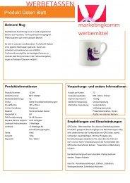 Werbetassen , individuelle Tassen als Werbemittel