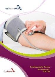 Cardiovascular Sensor DEMO DE