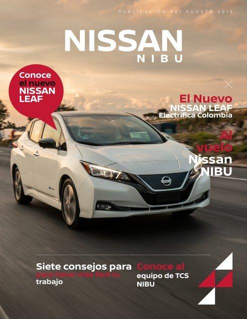Revista Nissan NIBU Agosto 2019
