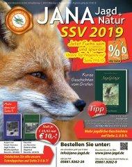 JANA Jagd + Natur SSV 2019