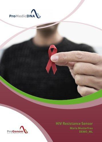 HIV Resistance Sensor DEMO DE