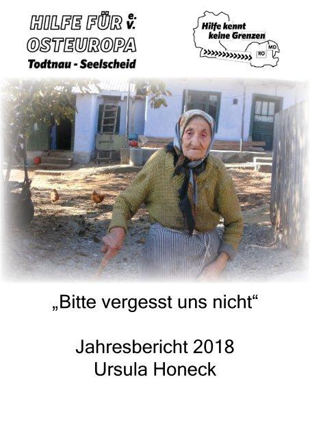 Hilfe für Osteuropa e.V. - Jahresbericht 2018
