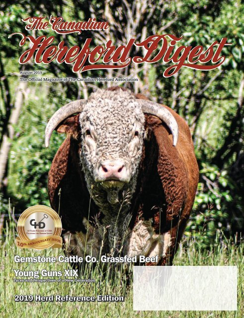 Canadian Hereford Digest August 2019