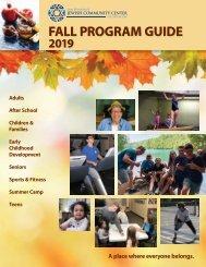 2019 Fall Program Guide
