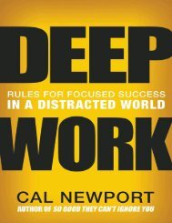 Deep Work_ Rules for focused success in a distracted world ( PDFDrive.com )