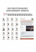 Photography Assignment Sheets - Page 5