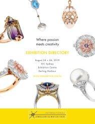 Sydney  Jewellery Trade Fair Directory 2019