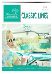 Noosa Classic Car Club - Classic Lines Aug2019