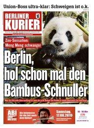 Berliner Kurier 15.08.2019