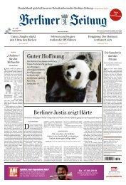 Berliner Zeitung 15.08.2019